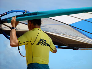 No Fear! Got to go windsurfing with the big wave.  Bird of Paradise Poipu Kauai Vacation Rental Home in Poipu Kai Resort, Poipu Beach, Kauai, Hawaii