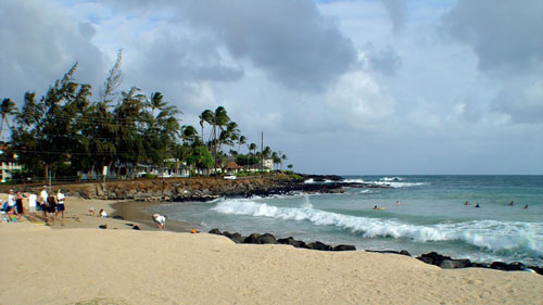 Brennecke Beach, adjacent to Poipu Beach Park