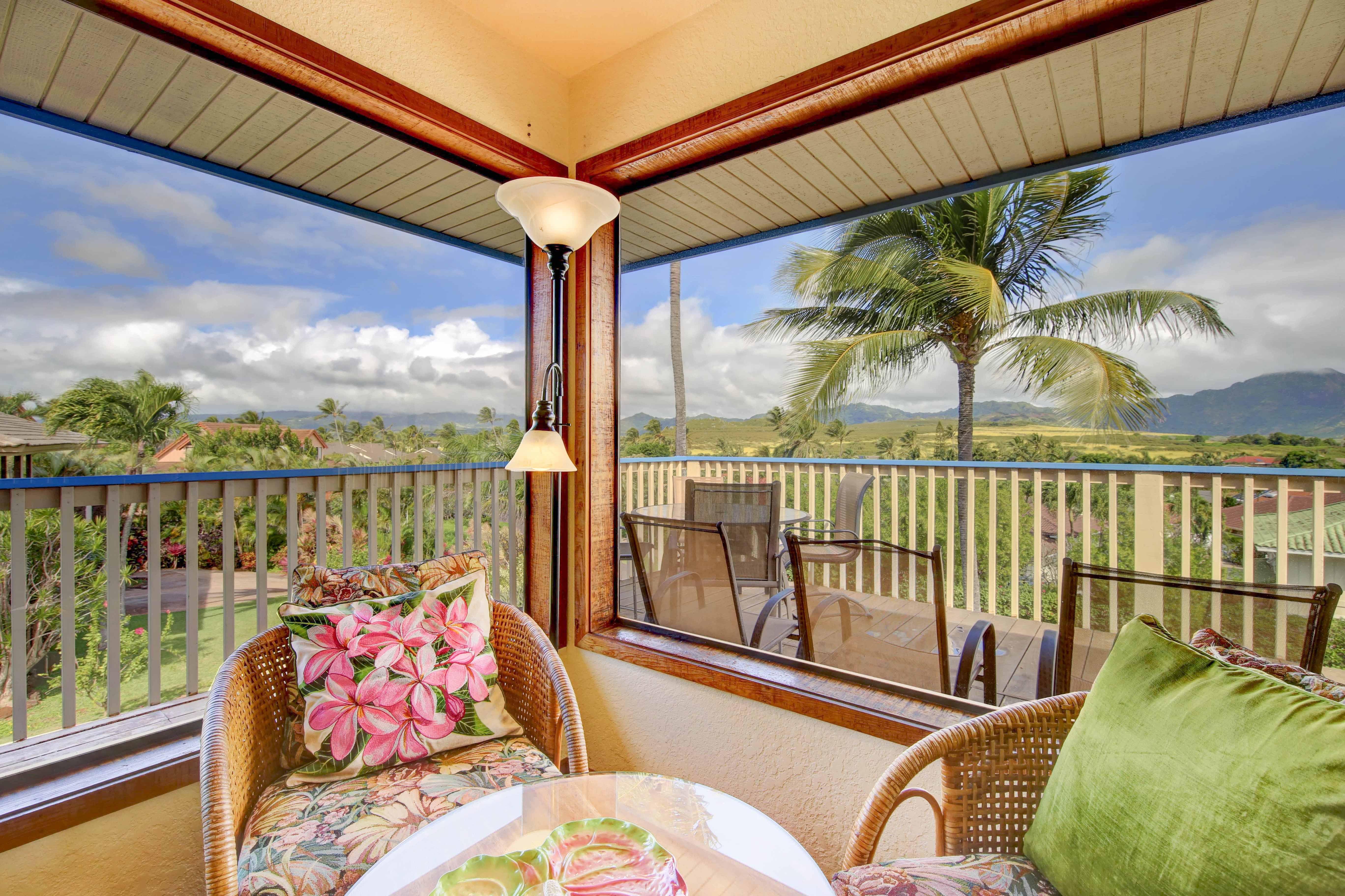 Ocean Views From Living Room Vacation Rental Home In Poipu Kauai Hawaii