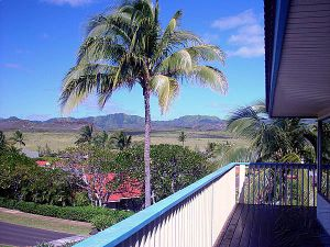 Afternoon views from the Bird of Paradise Poipu Kauai Vacation Rental home in Poipu Kai Resort, Poipu Beach, Kauai, Hawaii