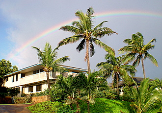 Rainbow view : Poipu vacation rental home