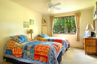 Surf's up room, two twin beds of Poipu vacation rental