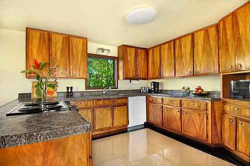 Fully Equipped Kitchen: Bird of Paradise Vacation rental home in Poipu Kauai